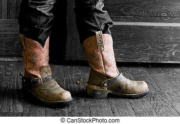 botas, boiadeiro