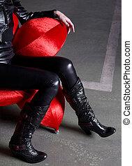 botas, na moda