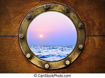 bote, porthole