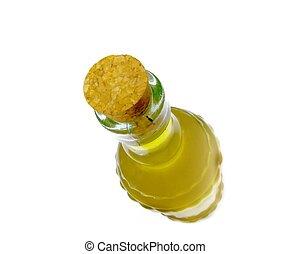 botella, aceite