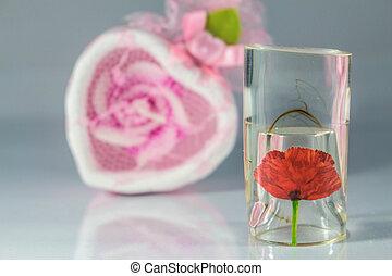 botella del perfume