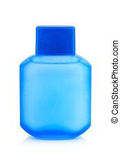 botella plástica, para, loción, jabón, champú, sunscreen