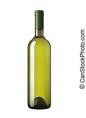 botella, verde