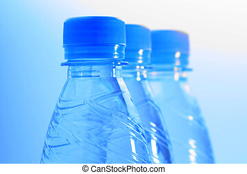 botellas del agua