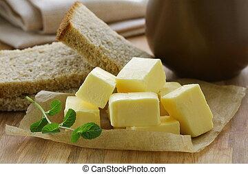 boter, fris, gele