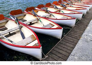 botes de remos