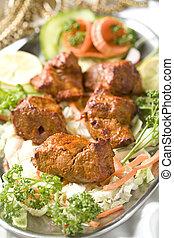 boti, kebab., インドの 食糧