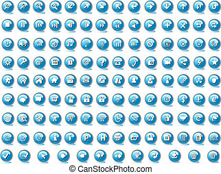 botones, tela