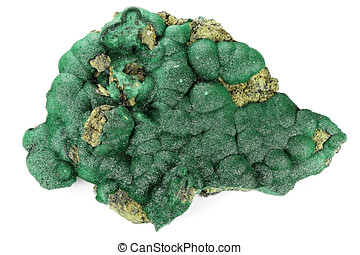 malachite - botryoidal malachite from Kolwezi/ Democratic...