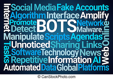 Bots Word Cloud