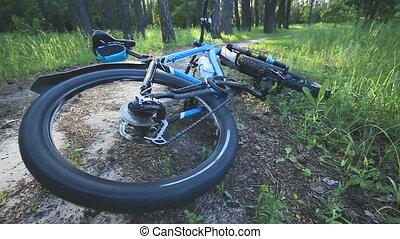 botsen, fiets, ongeluk