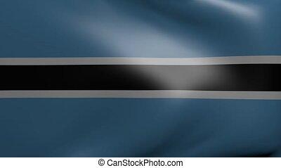 botswana strong wind flag