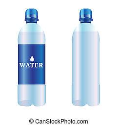 bottiglia acqua, puro