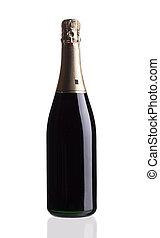 bottiglia,  champagne, su, chiudere