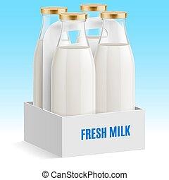 bottiglia latte