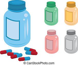 bottiglia pillola