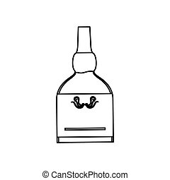 bottiglia vetro, whisky