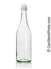 bottiglia vuota, vetro