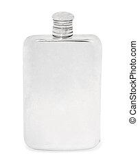 bottiglia vuota, vetro, colorless