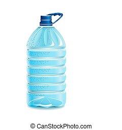 bottiglia, water.