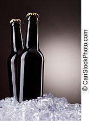 bottiglie birra, due