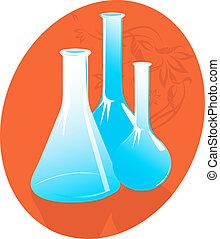 bottiglie, laboratorio