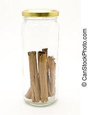 bottle cinnamon stick