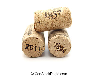 bottle corks with dates