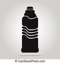 bottle icon illustration