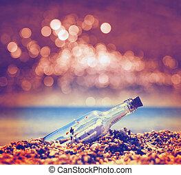 Bottle - Message in bottle