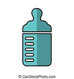 bottle milk baby icon