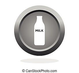 bottle milk icon