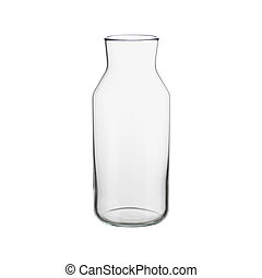 Bottle No Cap isolated on white background