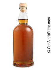 Bottle of alcoholic drink