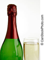 Bottle of champagner