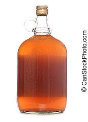 bottle of cloudy cider studio cutout