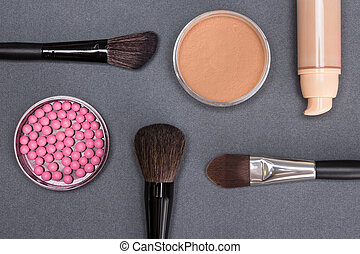 Basic makeup products to create beautiful complexion