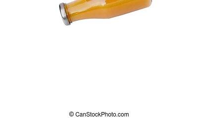 Bottle Of Orange Juice Smashes