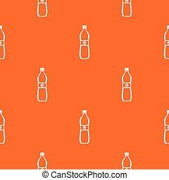Bottle of water pattern seamless