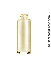 bottle on white background