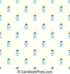 Bottle pattern seamless vector