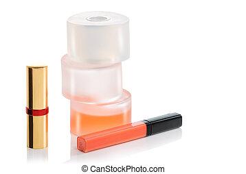 bottle perfume, cosmetics