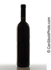 bottle., vino rojo