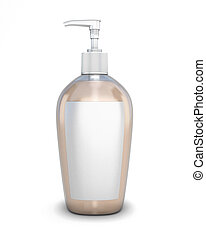 Bottle with soap