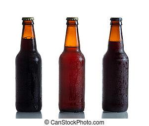 Bottled Fresh Cold Beer