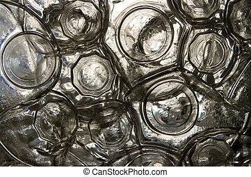Bottles abstract
