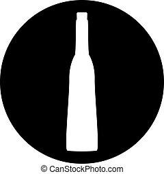 bottles of wine icon