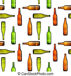 Bottles seamless
