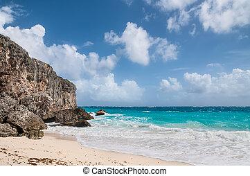 Bottom Bay in Barbados, West Indies, Caribbean