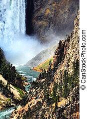 Bottom of Lower Falls